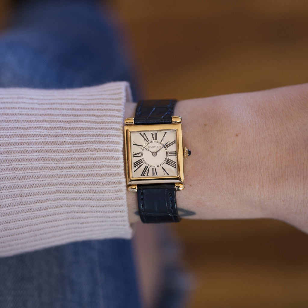 1920s Cartier Carré Obus Watch