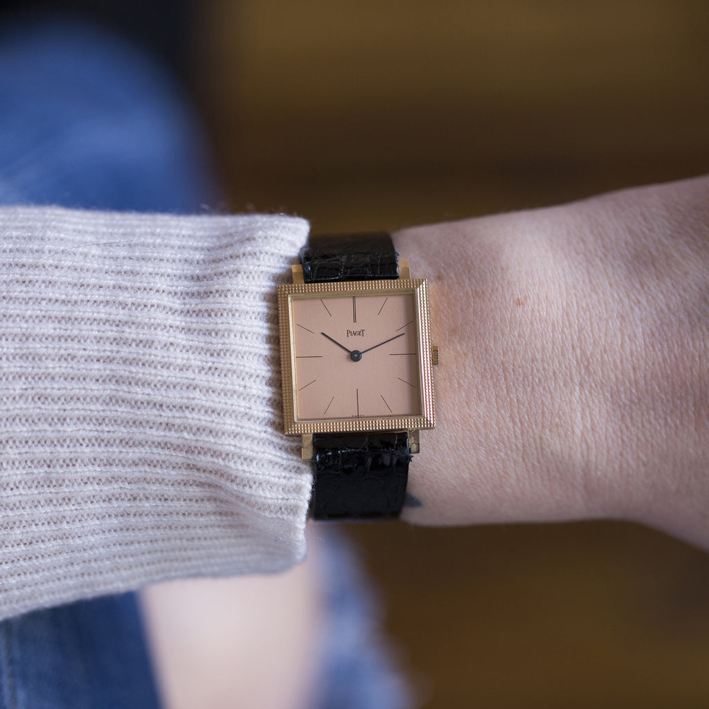 1965 Piaget 9P In Rose Gold With Papers