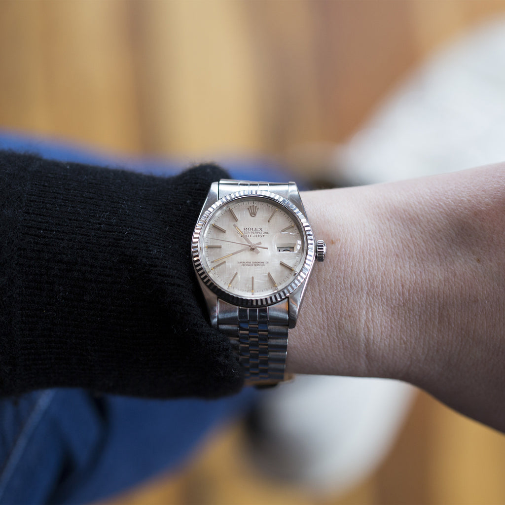 1983 Rolex Datejust Reference 16014 With Linen Dial