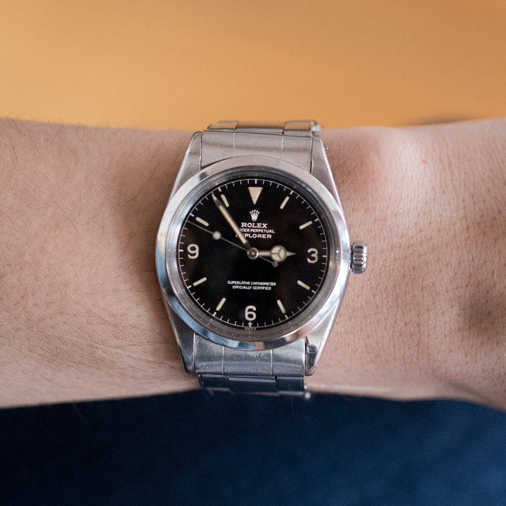 1961 Rolex Explorer Gilt Dial Reference 1016 With Box