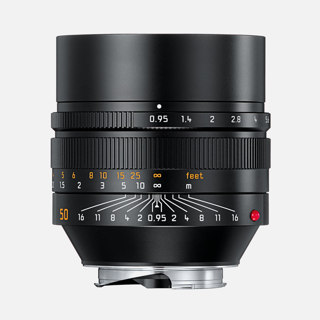 Leica NOCTILUX-M 50mm f/0.95 ASPH. Camera Lens In Black