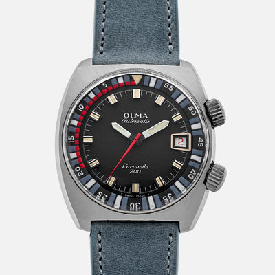 1970s Olma Caravelle 200 Diver Ref. 8611