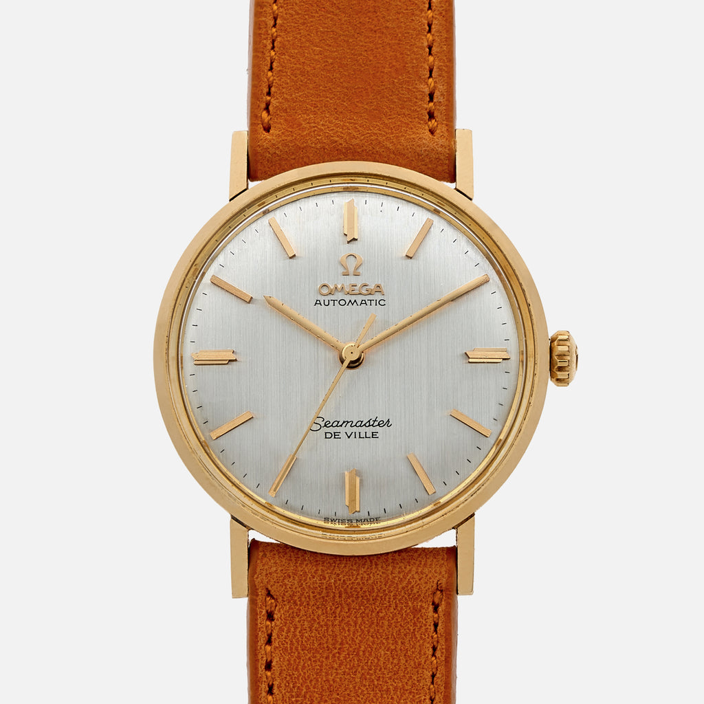1964 Omega Seamaster De Ville Ref. LL6590 In 14k Yellow Gold