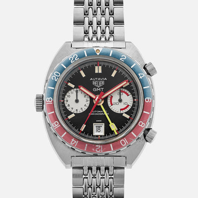 1970s Heuer Autavia GMT Ref. 1163 'Mark 3'