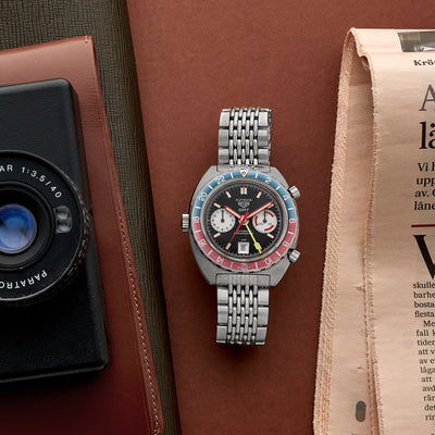 1970s Heuer Autavia GMT Ref. 1163 'Mark 3' alternate image.