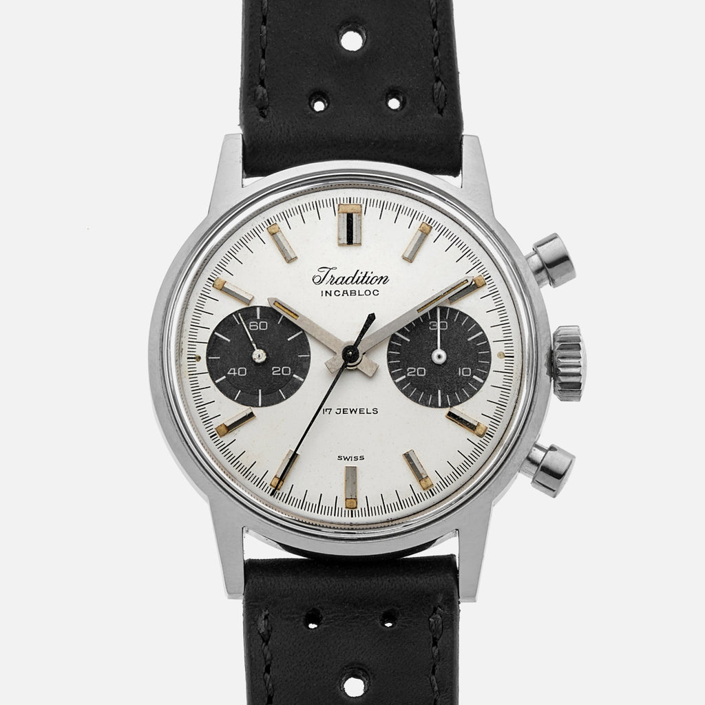 1960s Tradition Chronograph Ref. 73323 By Heuer For Sears, Roebuck And Co.