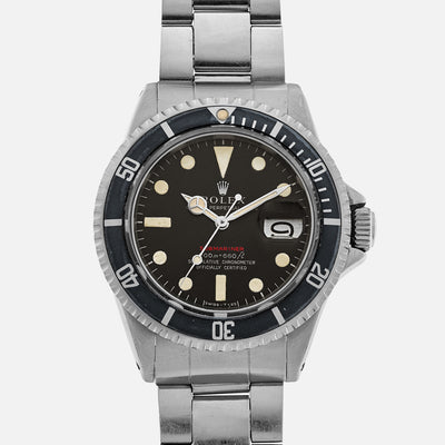 1969 Rolex 'Red' Submariner Ref. 1680 With Mark II Dial