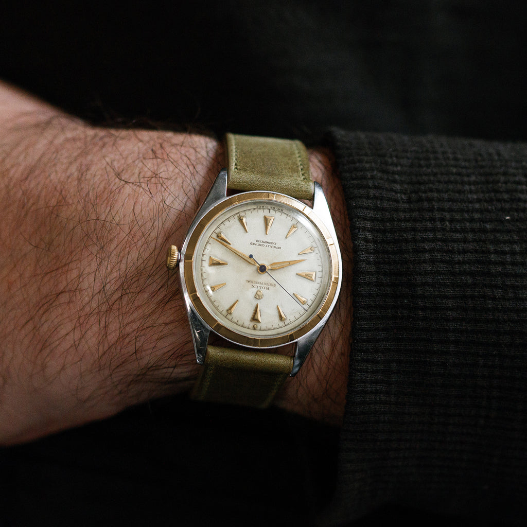 1947 Rolex Oyster Perpetual Ref. 5029 'Big Bubble' In Two Tone
