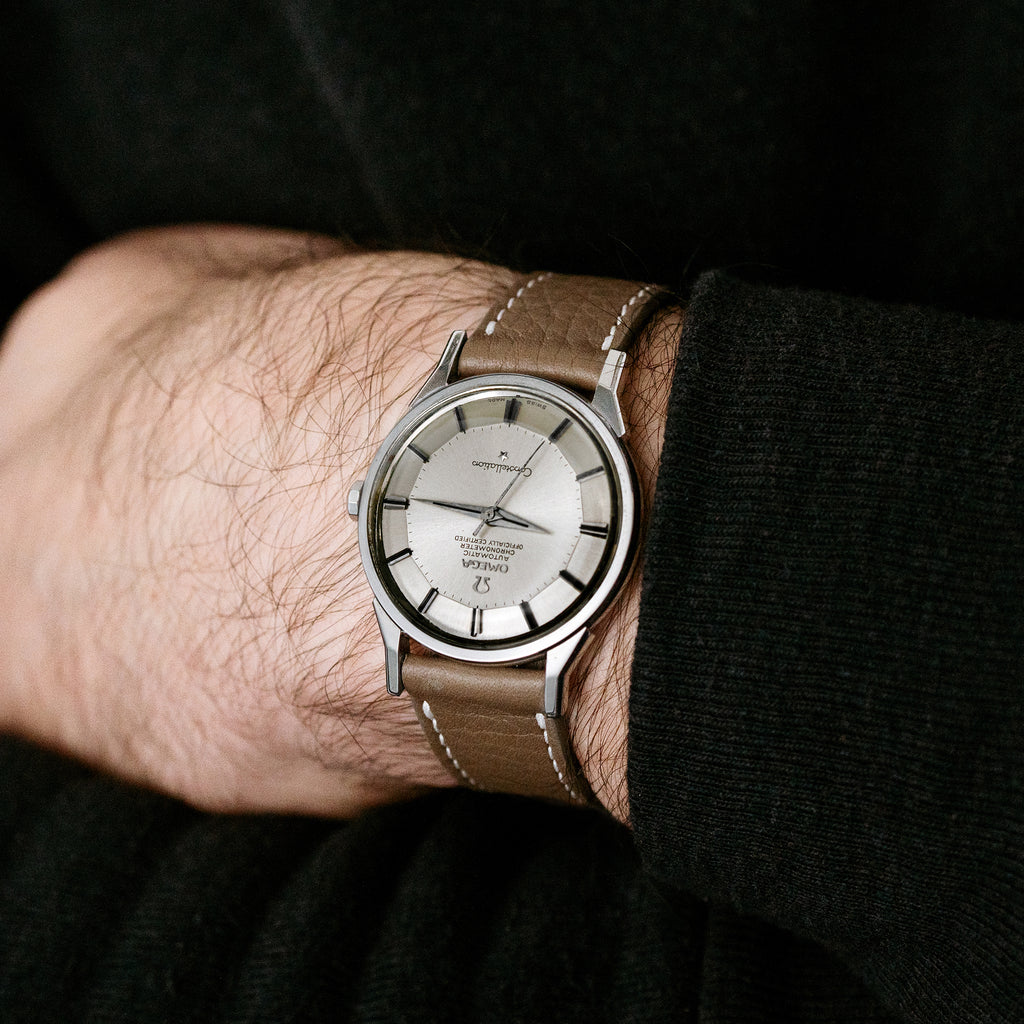 1964 Omega Constellation Ref. 167.005 With 'Dog Leg' Lugs