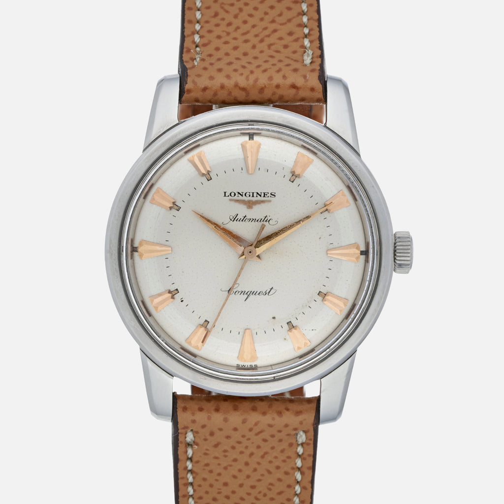 1950s Longines Conquest In Steel