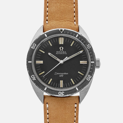 1960s Omega Seamaster 120 Ref. 165.027 With 'Ghost' Bezel