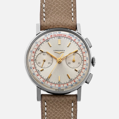 1965 Longines 30CH Chronograph Ref. 7412 With Box And Extract