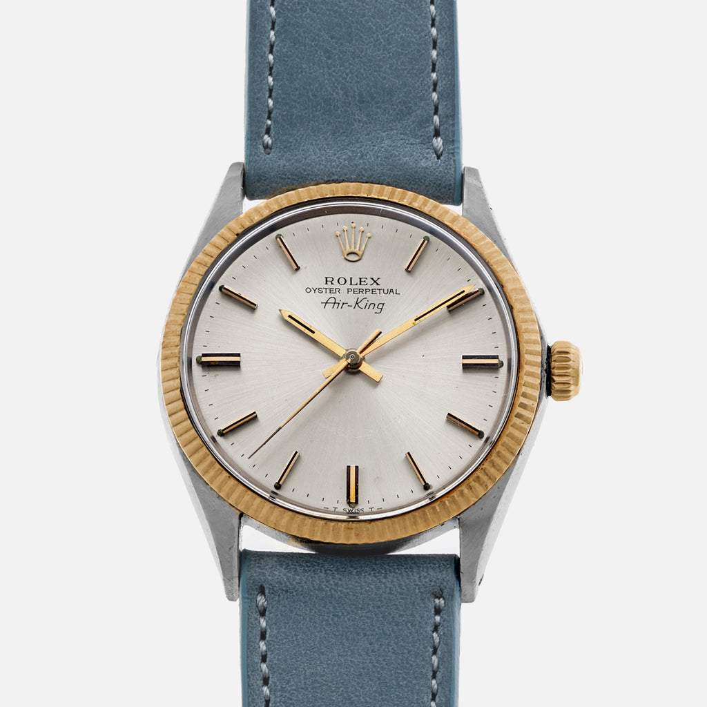 1970 Rolex Air-King Ref. 5501 In Two Tone With Box And Papers