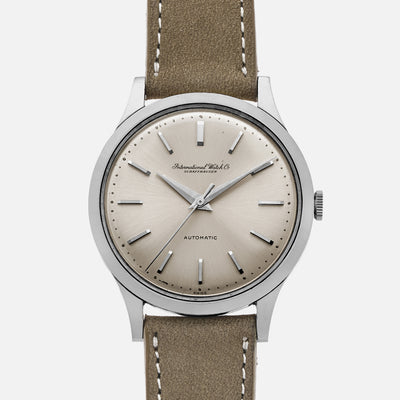 1960s IWC Automatic Dress Watch Ref. 647A In Steel