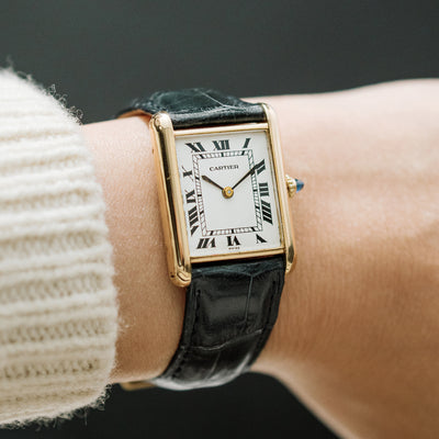 1970s Cartier Tank In 18k Yellow Gold alternate image.