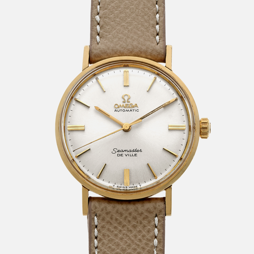 1960s Omega Seamaster De Ville Ref. LL 6590 In 14K Yellow Gold