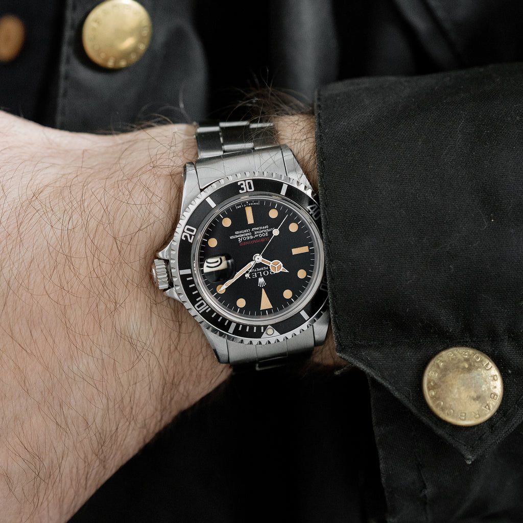 1969 Rolex 'Red' Submariner Ref. 1680 With Mark I Dial