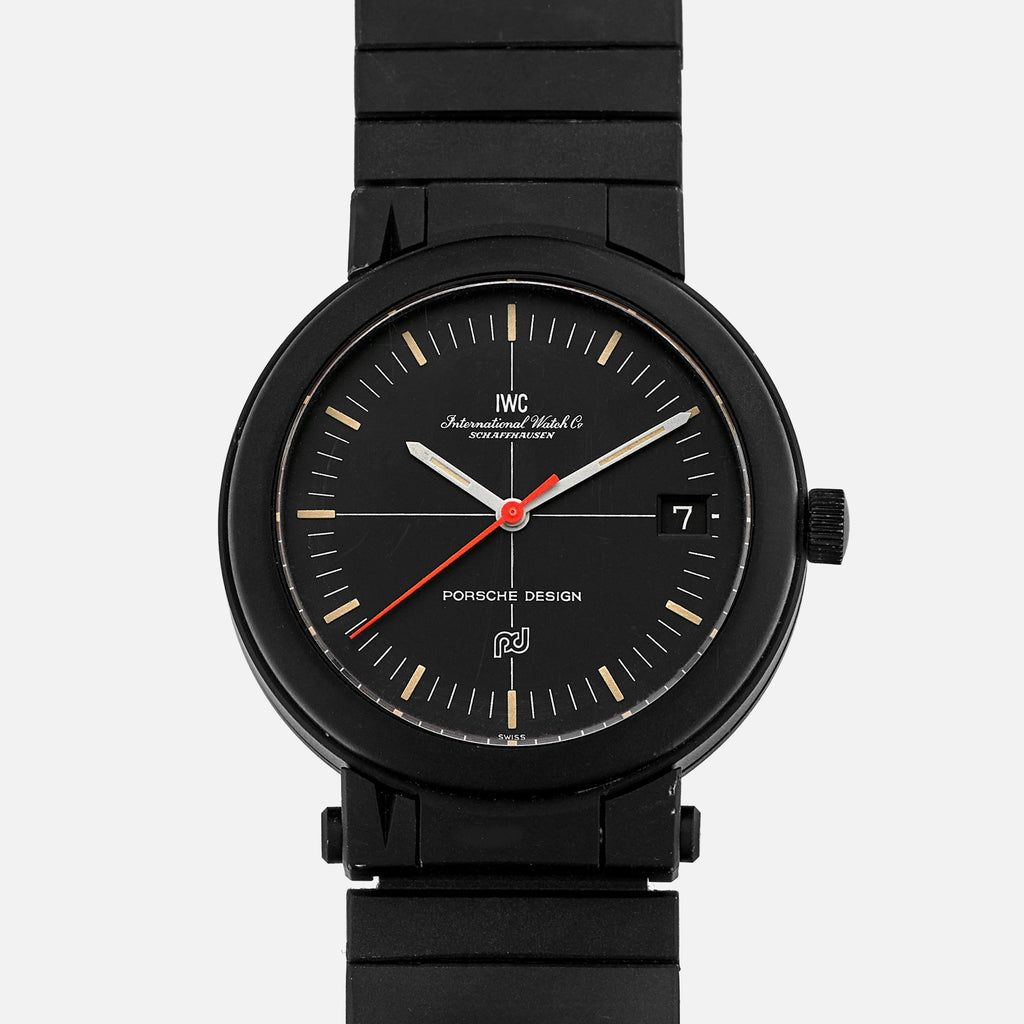 1980s Porsche Design By IWC Compass Watch