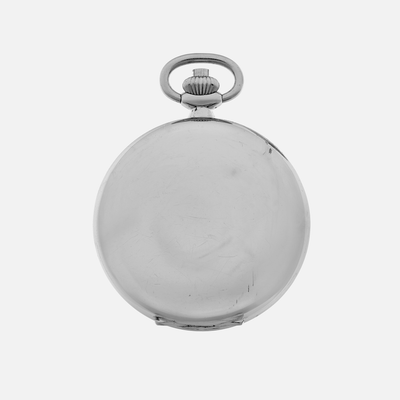 1940s Heuer Single-Button Chronograph Pocket Watch alternate image.