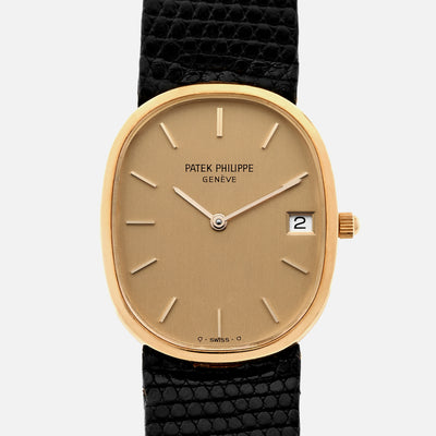 1985 Patek Philippe Golden Ellipse Ref. 3788 With Box And Papers