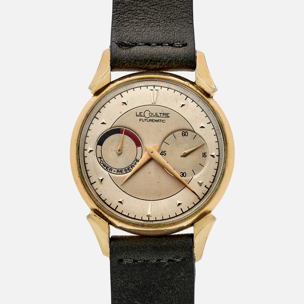 1950s LeCoultre Futurematic In 10k Yellow Gold-Capped Case