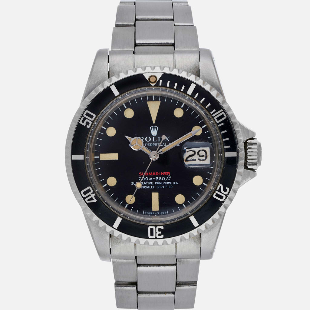 1969 Rolex 'Red' Submariner Reference 1680