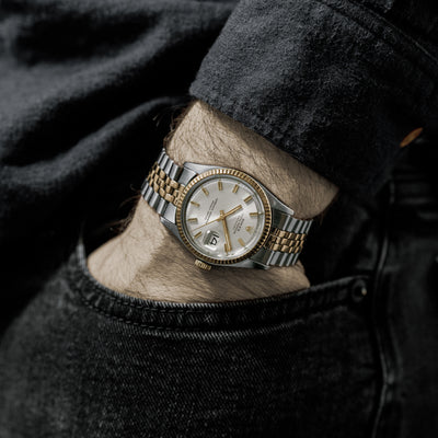 1974 Rolex Datejust 'Wide Boy' Ref. 1601 In Two Tone alternate image.