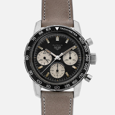 1960s Heuer Autavia Ref. 2446C Retailed By Abercrombie & Fitch Co.