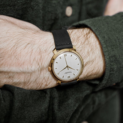 1960s IWC Dress Watch In 18k Yellow Gold alternate image.