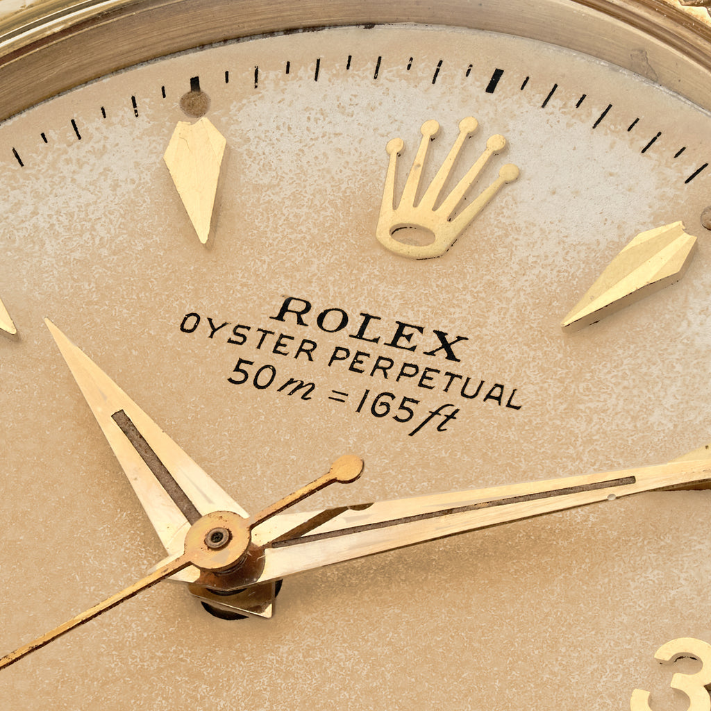 1956 Rolex Oyster Perpetual Ref. 6567 With Meters First And 3-6-9 Dial