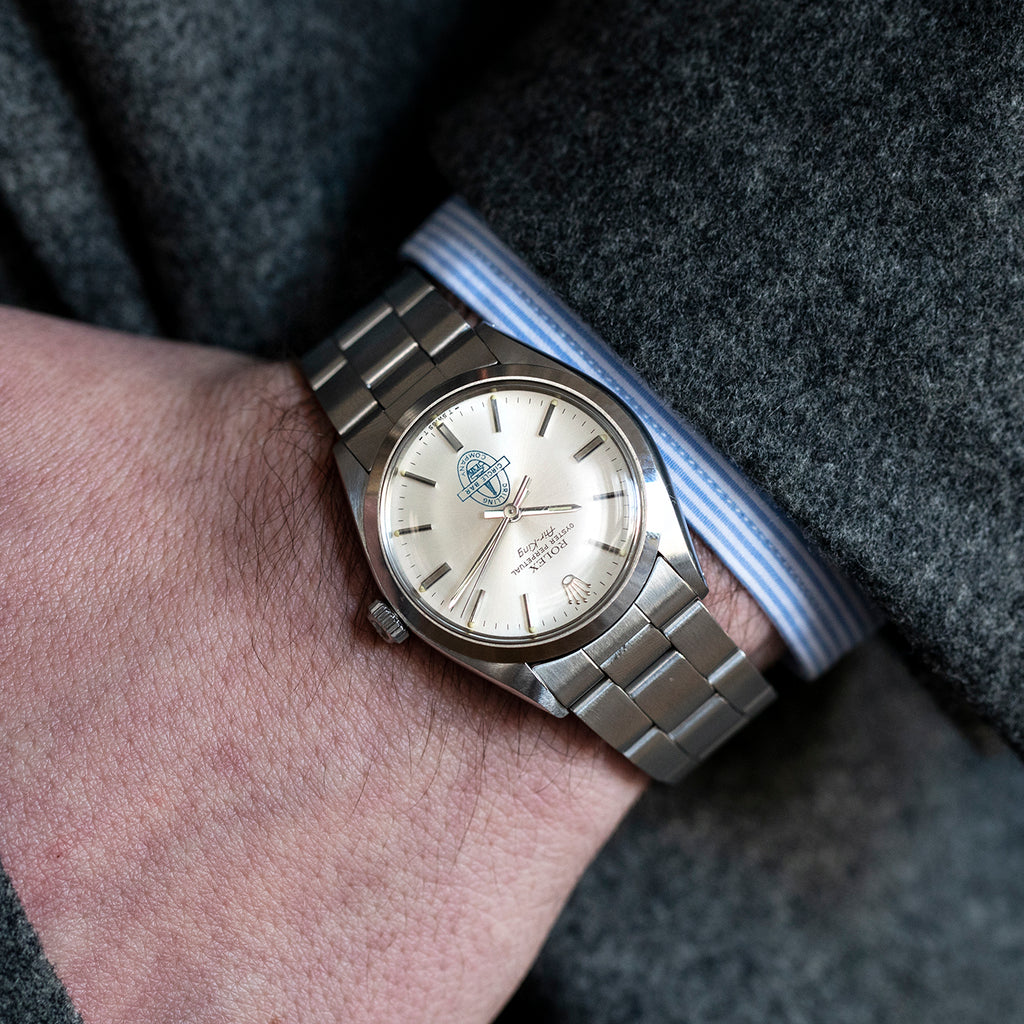1980 Rolex Air-King Reference 5500 With Circle Bar Dial