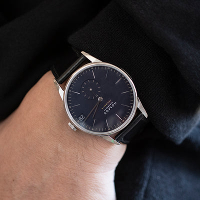 NOMOS Glashütte Orion Neomatik 41 Date Midnight Blue alternate image.