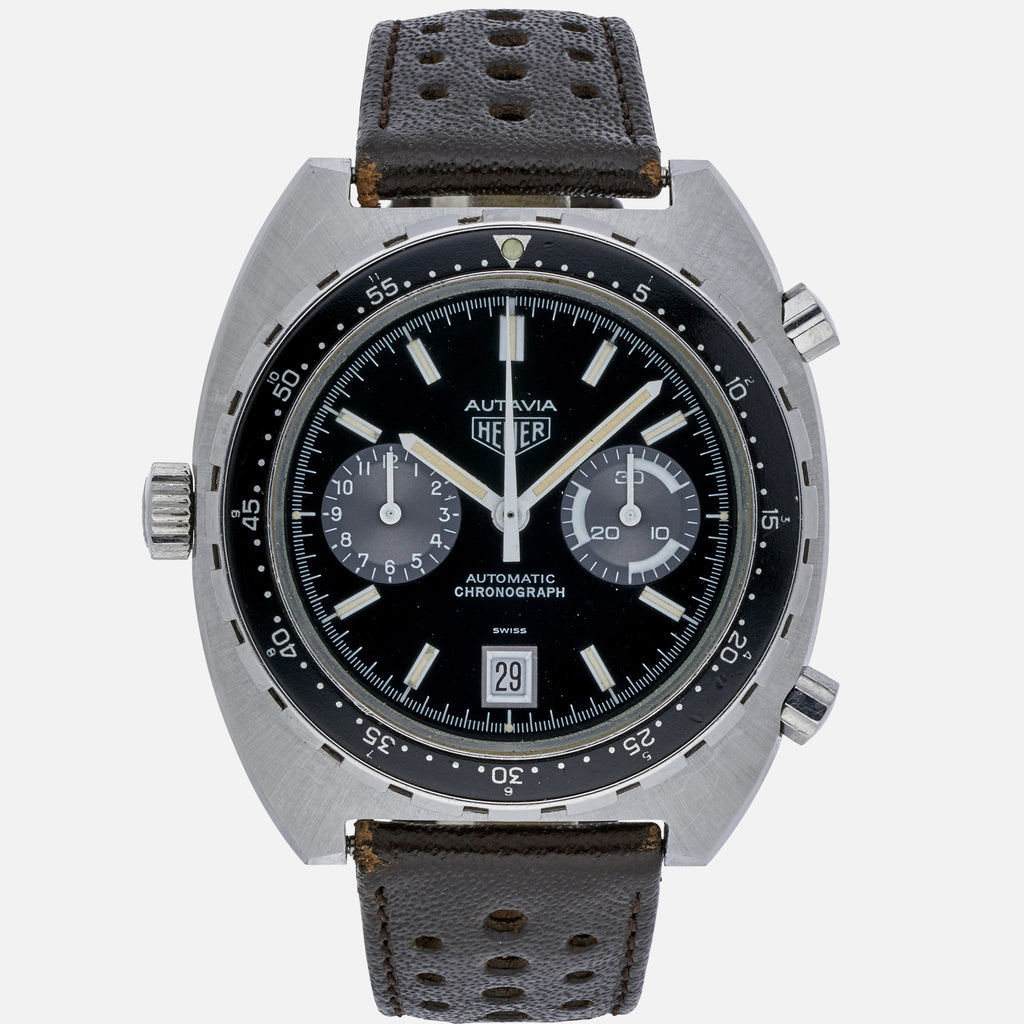 1980s Heuer Autavia Automatic Reference 11063