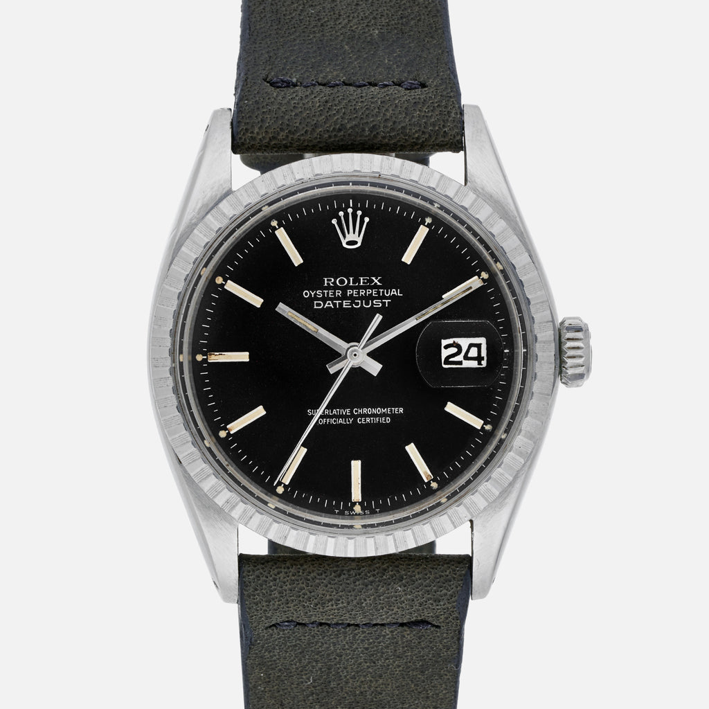 1970 Rolex Datejust Reference 1603 With Black Dial