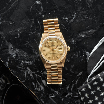 1970s Rolex Day-Date Reference 1803 In Yellow Gold alternate image.