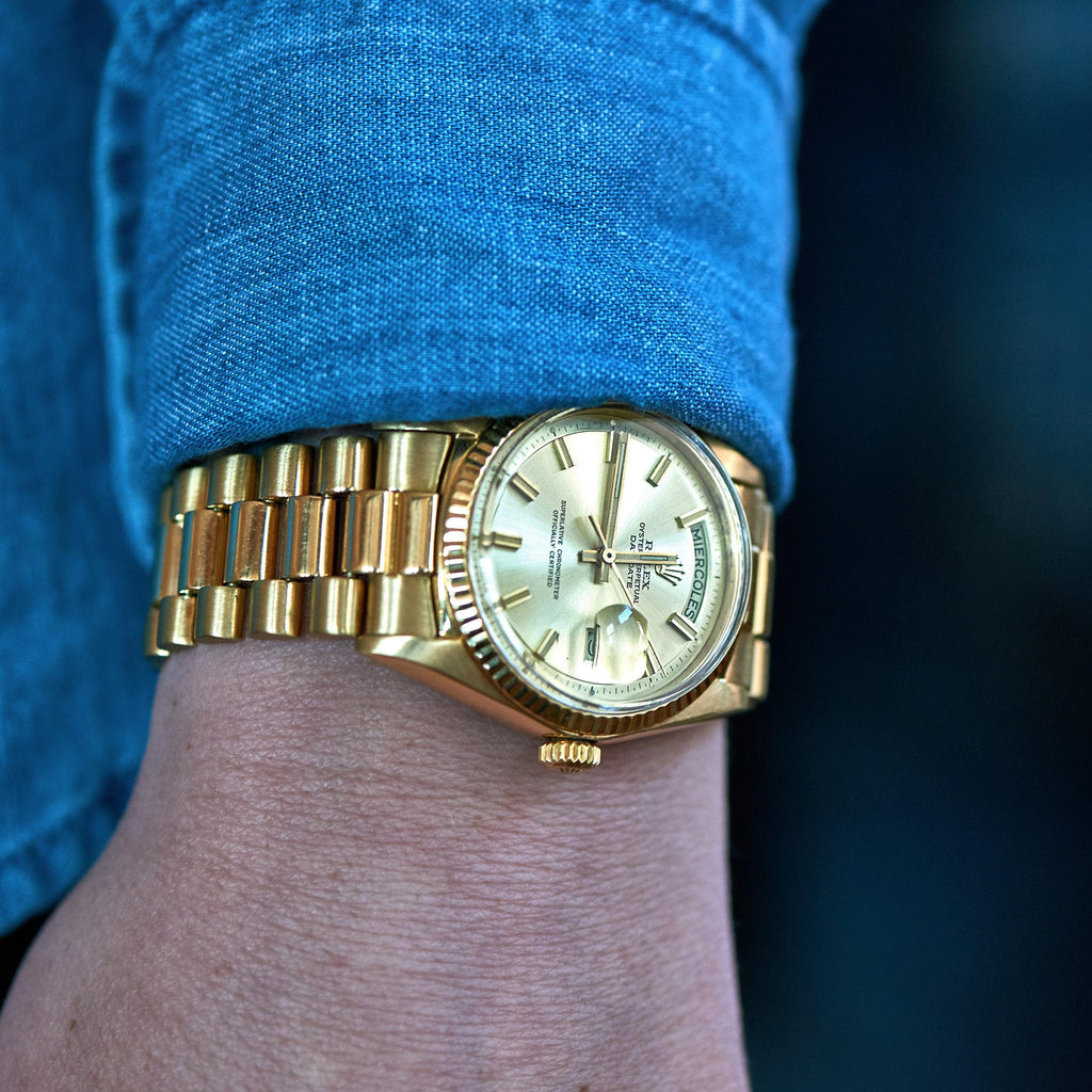 1970s Rolex Day,Date Reference 1803 In Yellow Gold