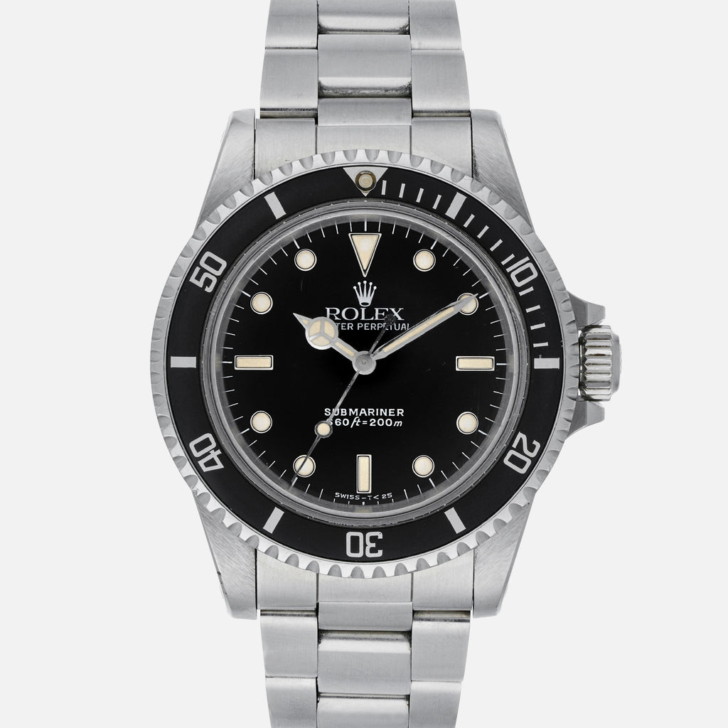 1989 Rolex Submariner Reference 5513