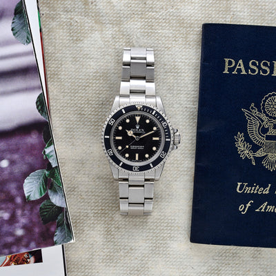 1989 Rolex Submariner Reference 5513 alternate image.