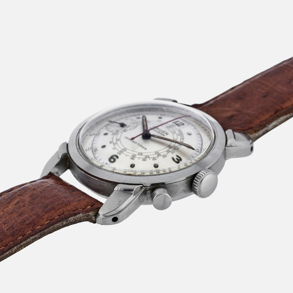 1940s Gruen Chrono-Timer With Pulsation Dial