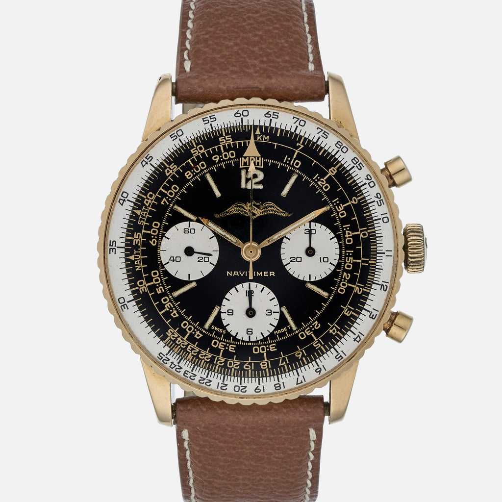1966 Breitling Navitimer Reference 806 In Yellow Gold