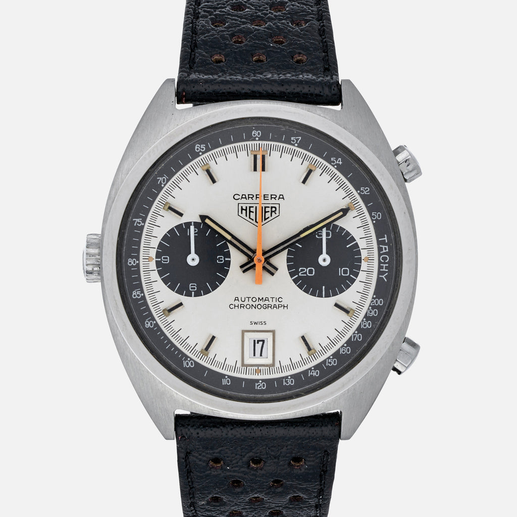 51054aa06421 1970s Heuer Carrera Automatic Chronograph Reference 1153