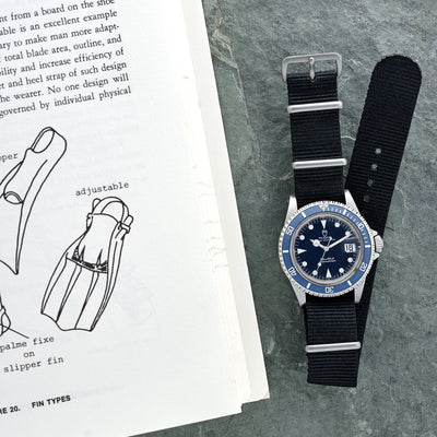 1990 Tudor 'Blue' Submariner Reference 79090 alternate image.