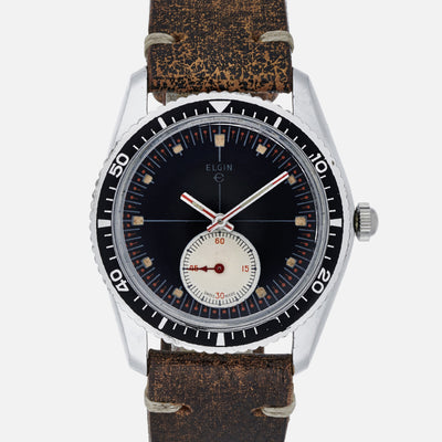 1960s Elgin Diver Watch