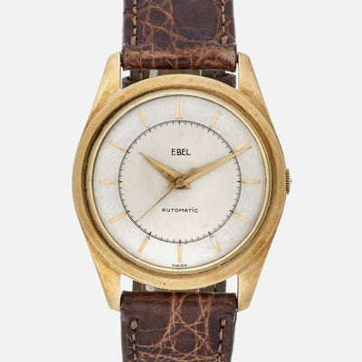 1950s Ebel Dress Watch In Yellow Gold