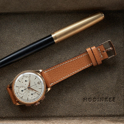1950s Rose Gold Zenith Chronograph 156H alternate image.
