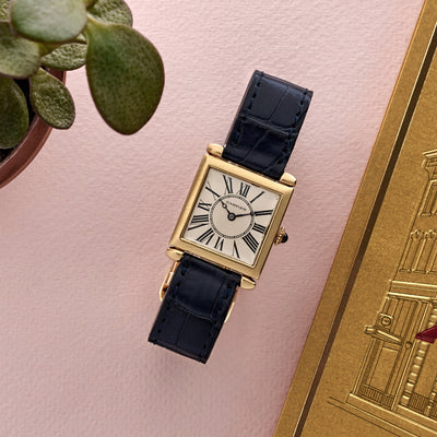 1920s Cartier Carré Obus Watch alternate image.