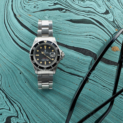 1972 Rolex Red Submariner Reference 1680, Complete With Box, Papers, & More alternate image.