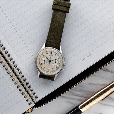 1940s Tissot Chronograph alternate image.