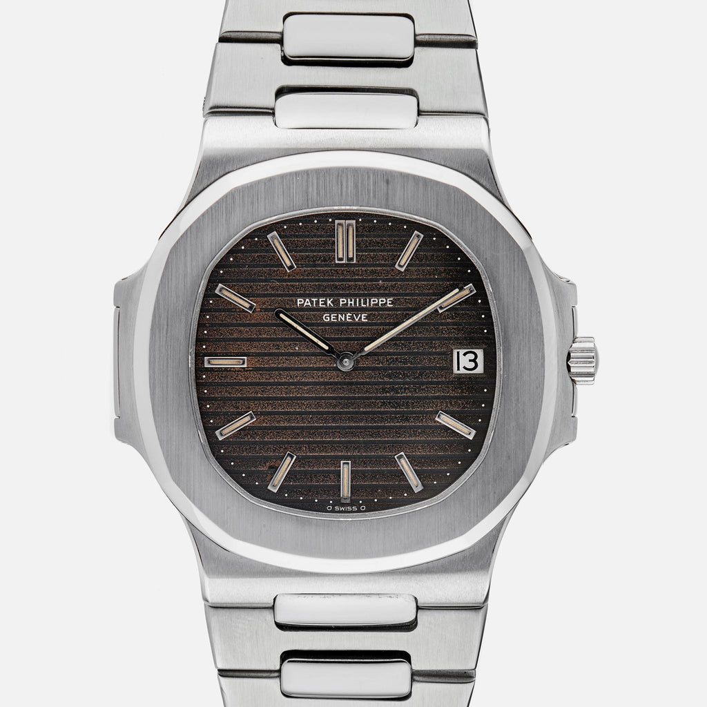 1977 Stainless Steel Patek Philippe Nautilus Reference 3700 1