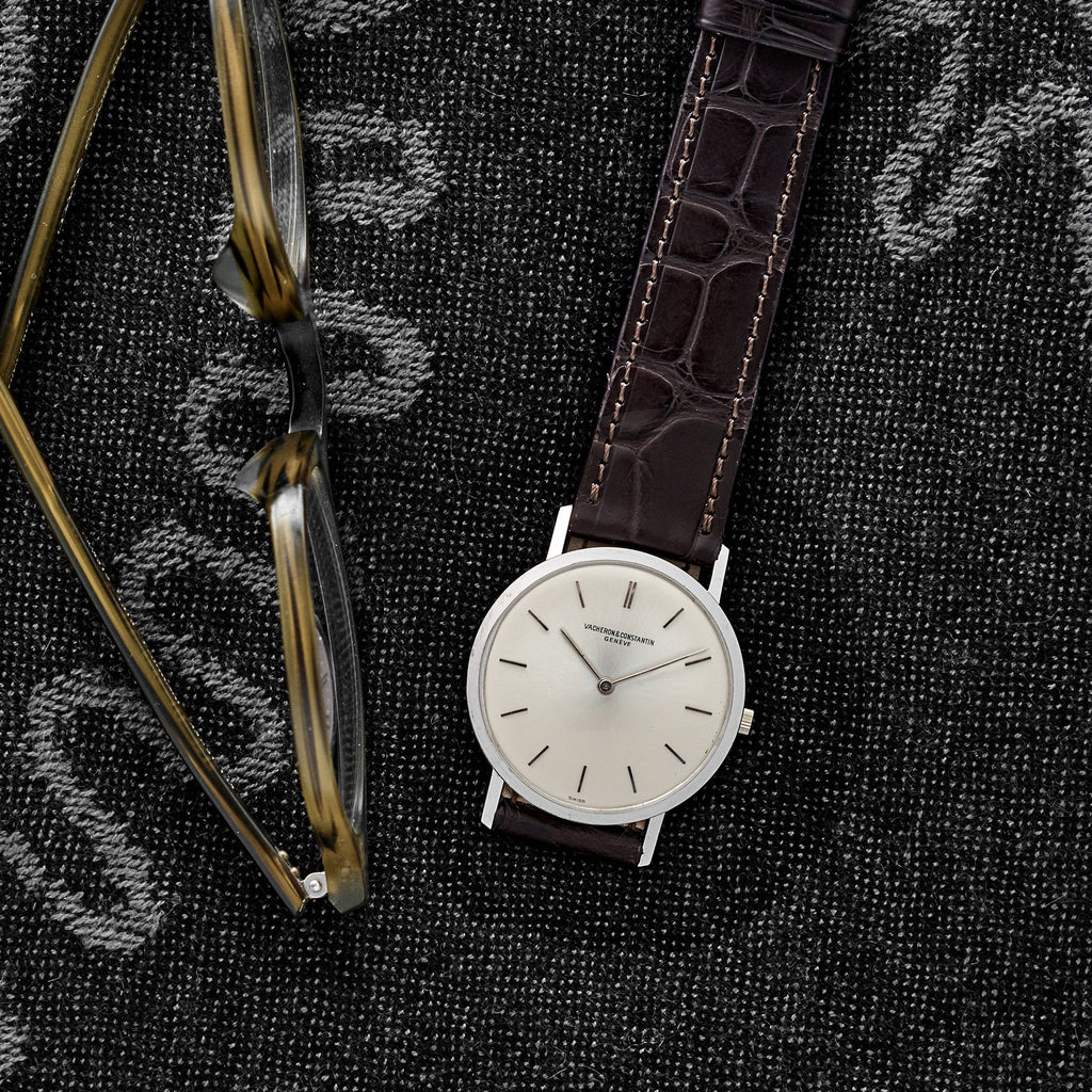 1960s Vacheron Constantin Reference 6115 In White Gold